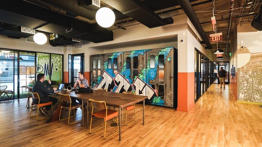 WeWork coworking space