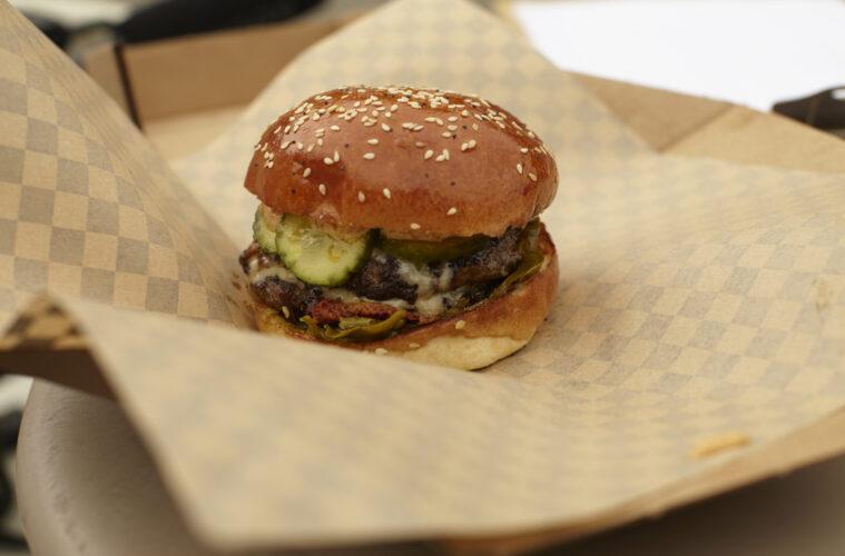 GROUND climate positive burger