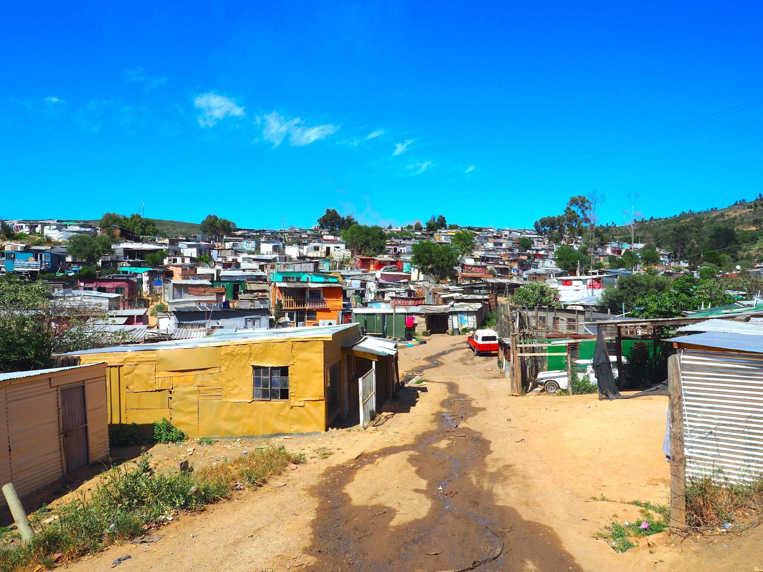 Slums, Stellenbosch, Cape Town,