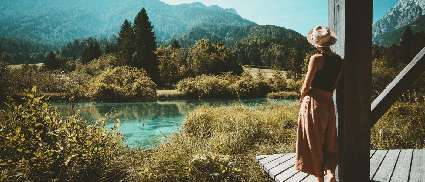 Traveller in Slovenia