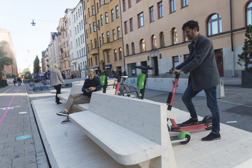 Street Moves: Sweden's 'one-minute' city promotes hyper-local culture