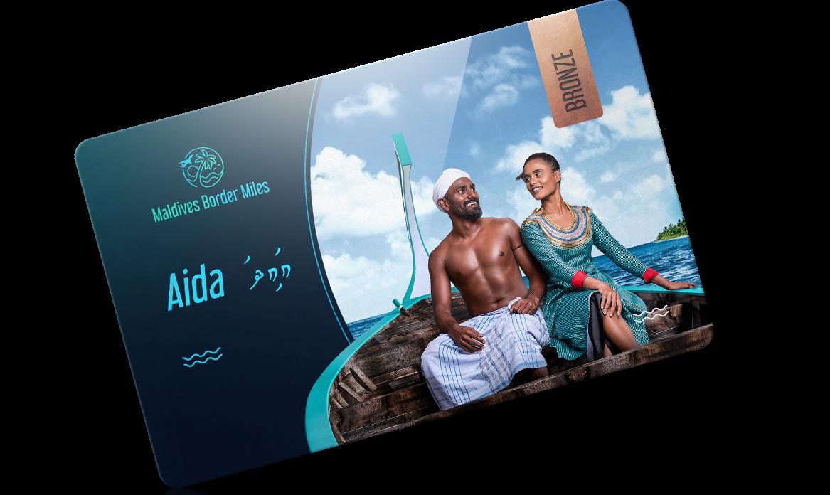 Aida tier Maldives Border Miles