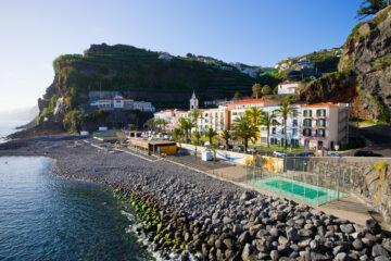 Beach in Ponta do Sol - Madeira, Portugal
