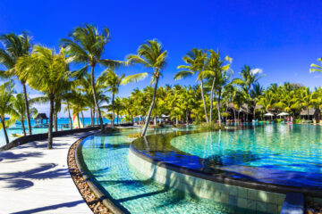 Trou aux Biches Beachcomber mauritius