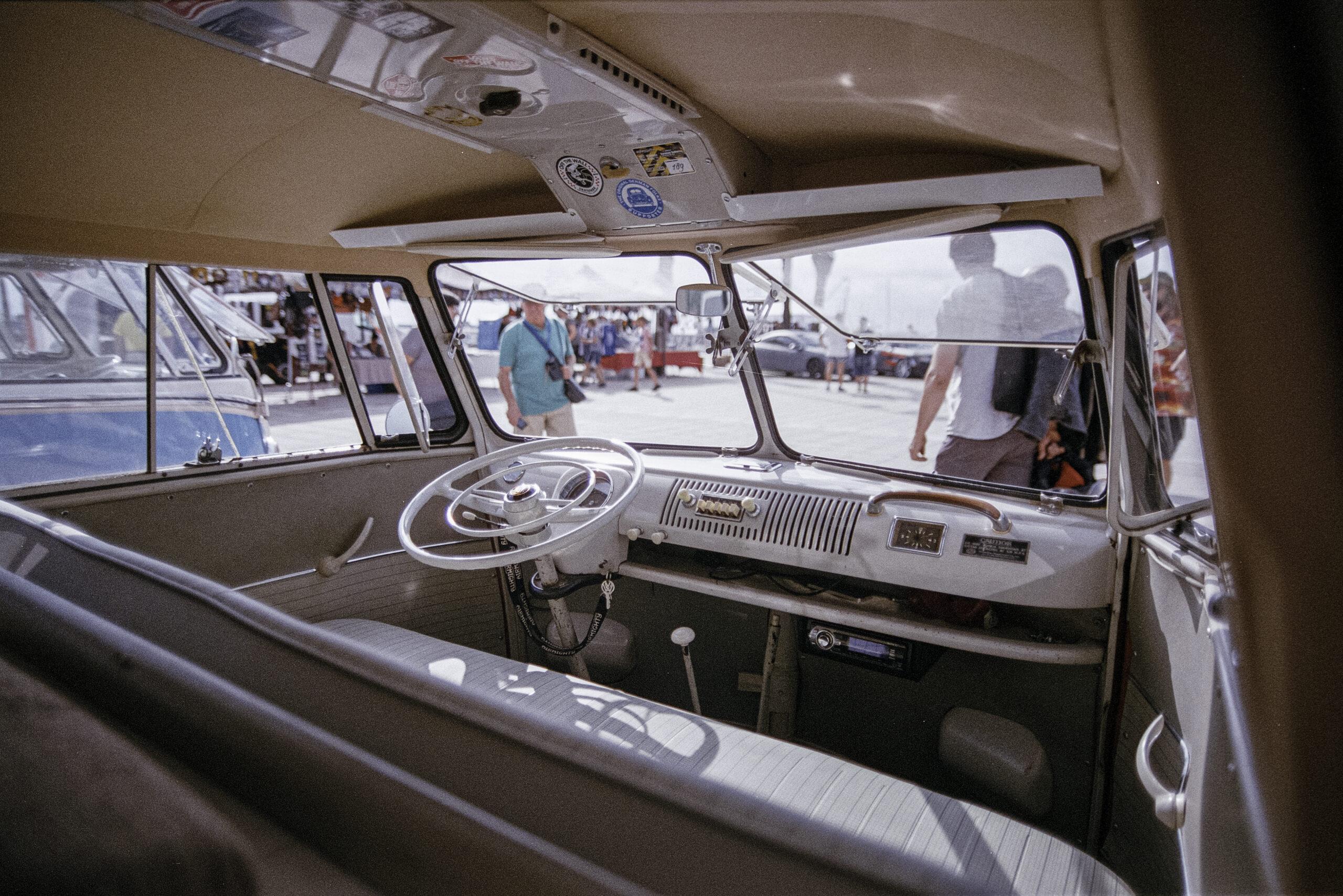 Vintage camper van