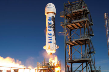 New Shepard © Blue Origin