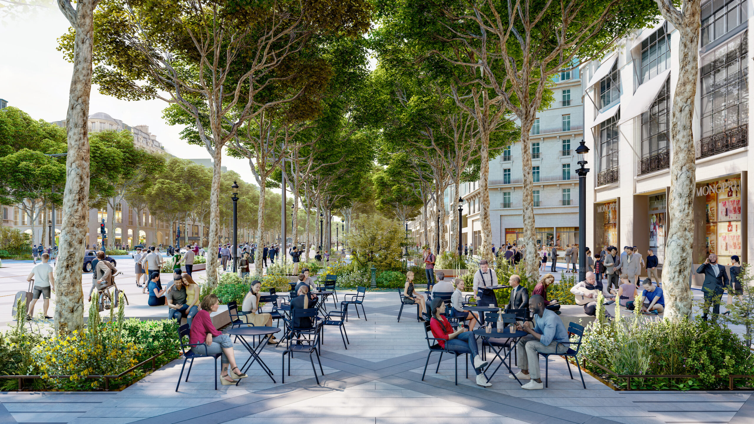 Champs-Elysées © PCA-STREAM