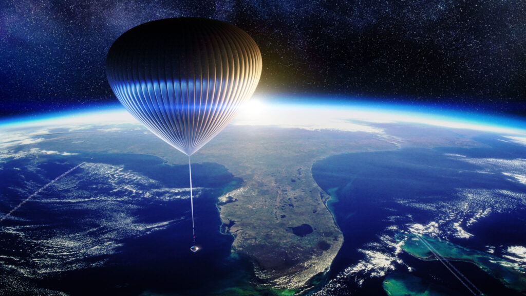 Space Perspective balloon