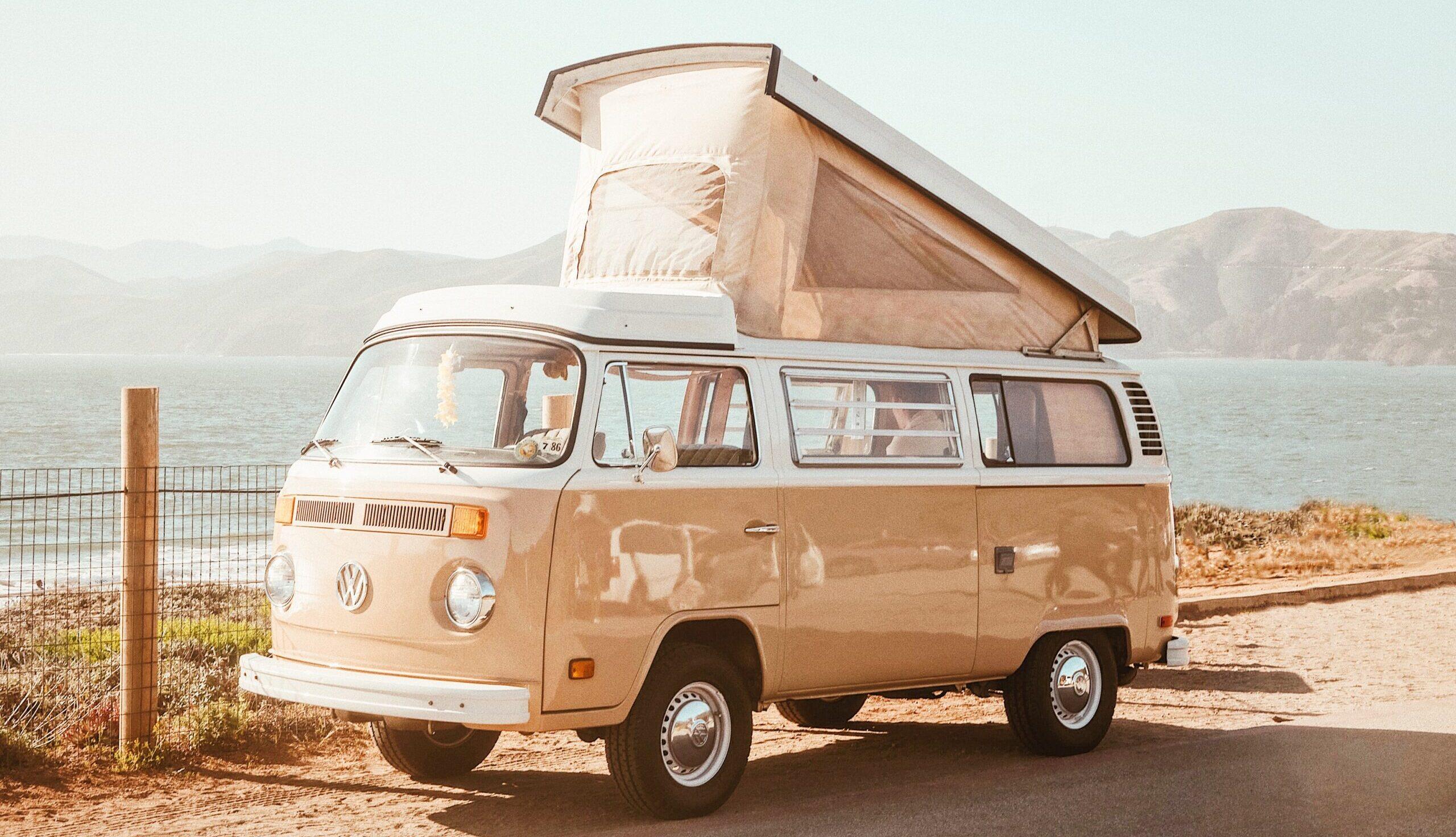 VW van © Caleb George