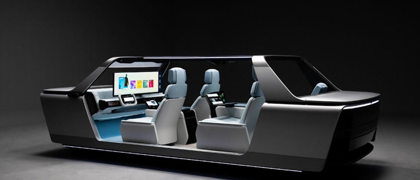 Samsung Digital Cockpit © Samsung, CES 2021