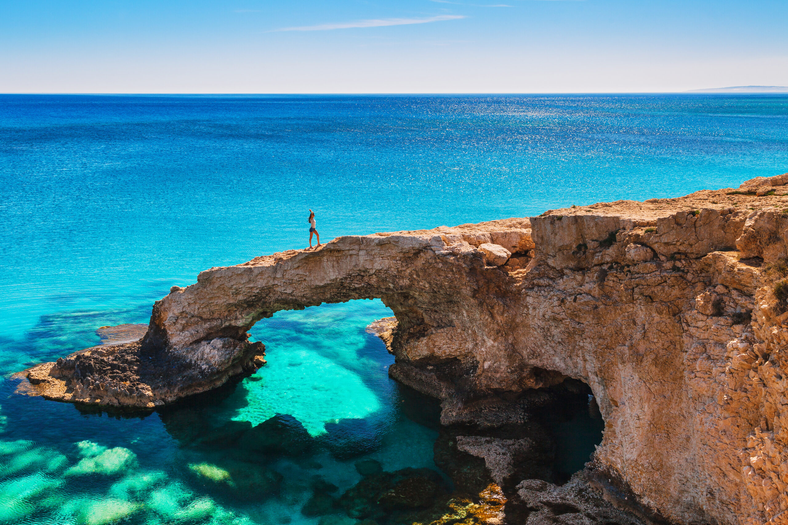 rock arch near Ayia Napa, Cavo Greco and Protaras – Cyprus