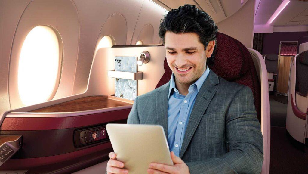 Qatar Airways IFE