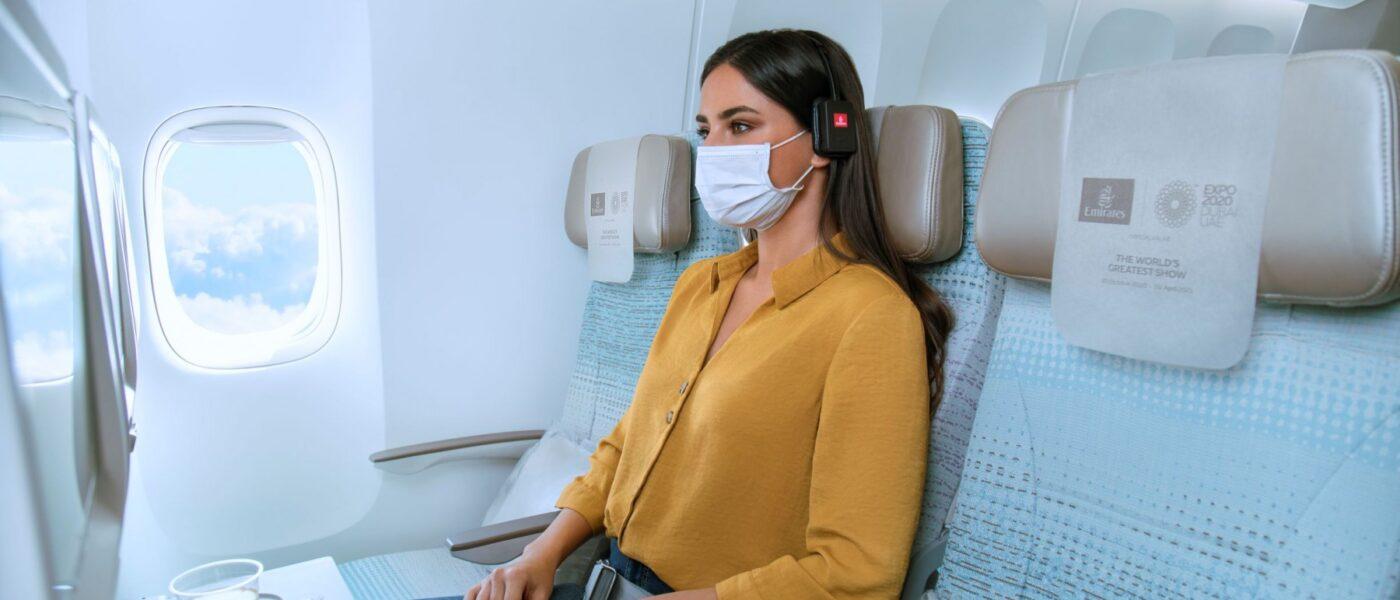 Emirates empty seat