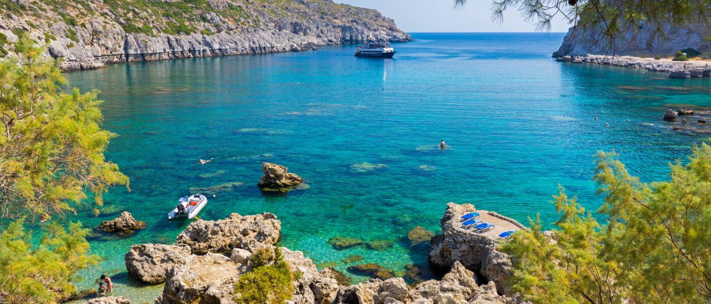 Anthony Quinn Bay Rhodes, Greece