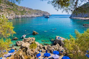 Anthony Quinn Bay Rhodes, Greece