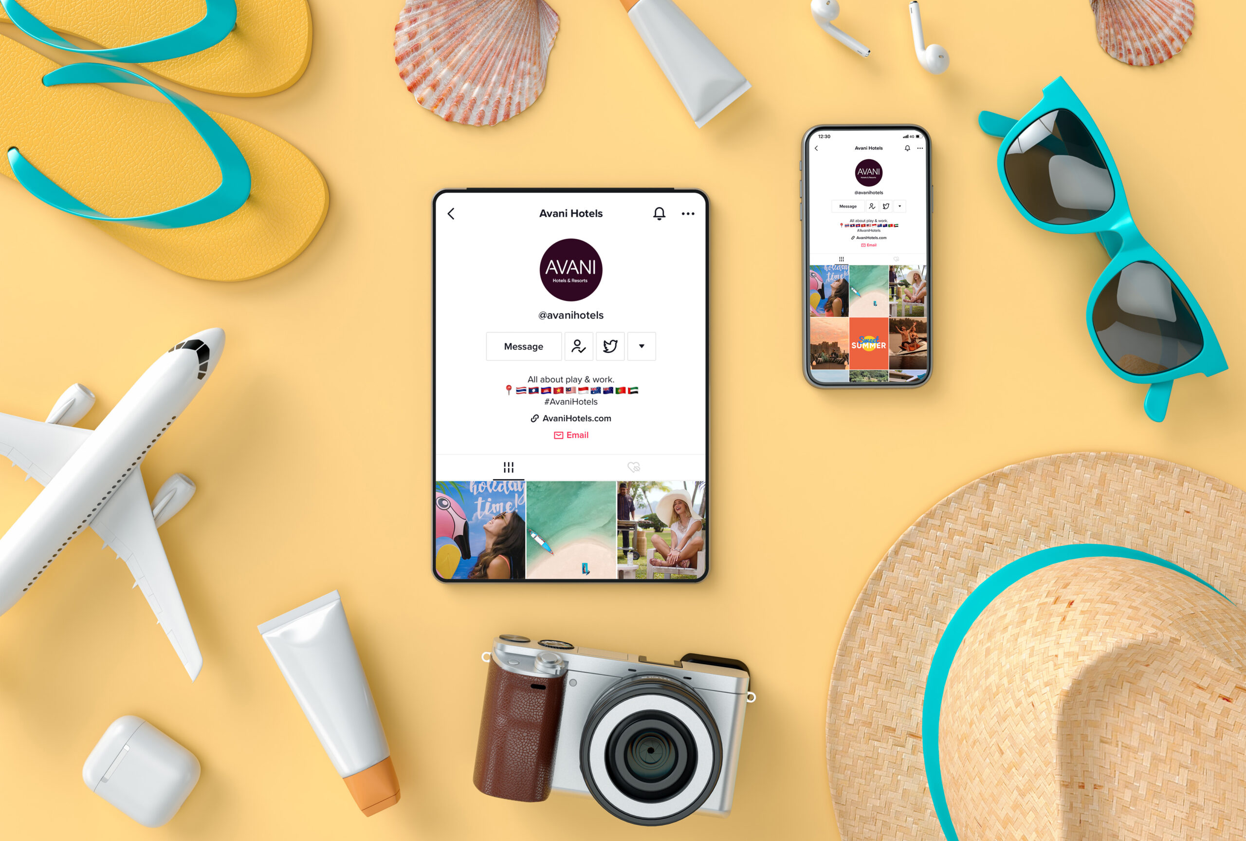 Avani Hotels launches TikTok channel