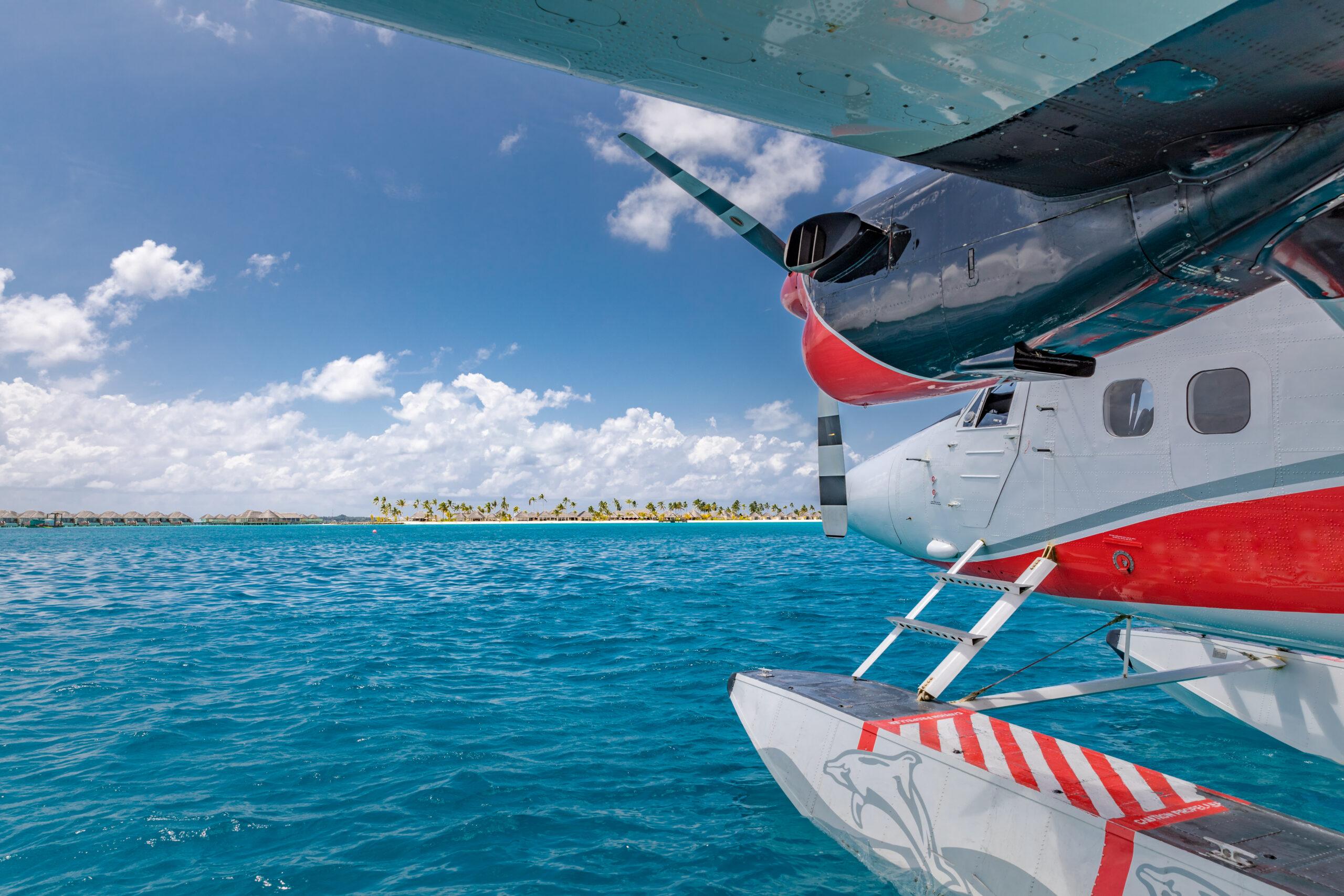 Trans Maldivian Airways seaplane