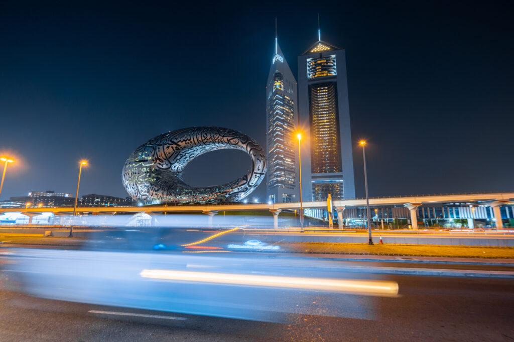 The Museum of the Future in Dubai UAE