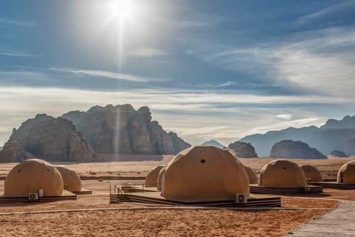 Much Better Adventures martian domes