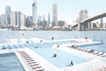 Plus Pool East River New York City