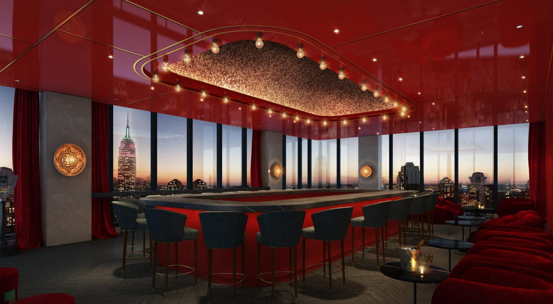 Virgin Hotels New York City roofftop bar