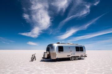 Scott Dunn Airstream, Uyuni salt flats
