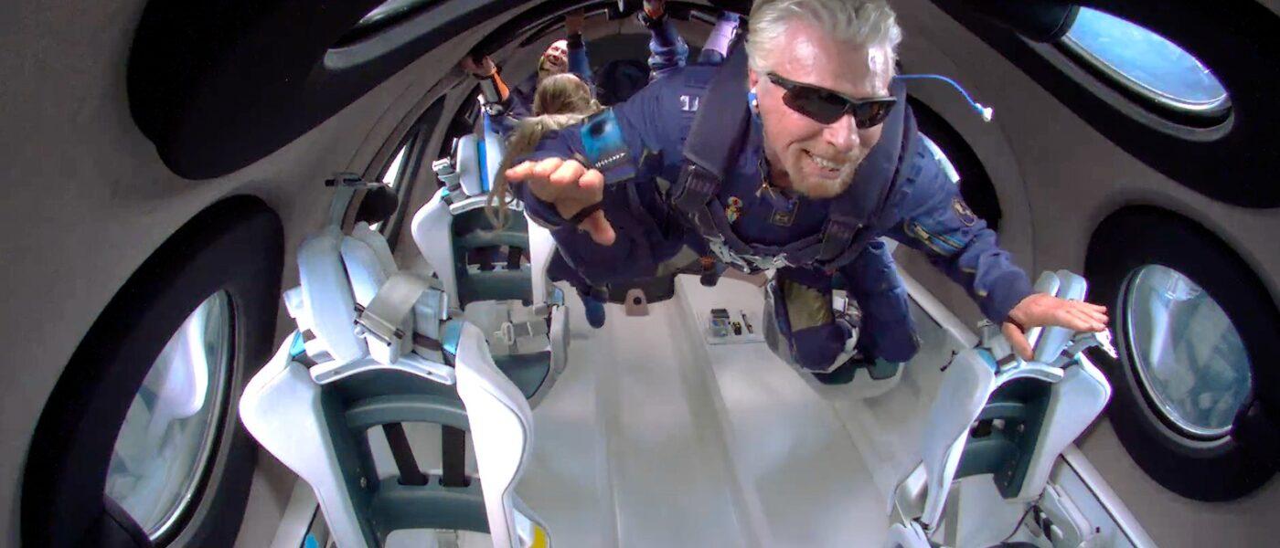 Richard Branson, Unity 22, Virgin Galactic