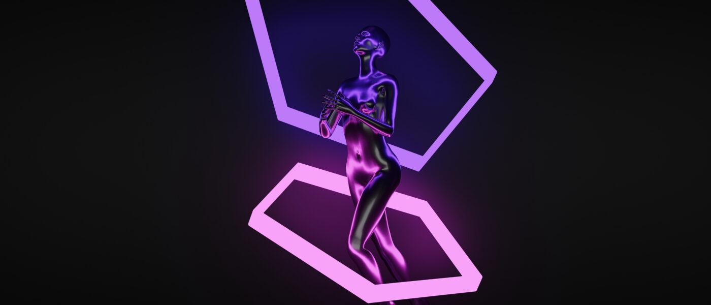 Futuristic human body
