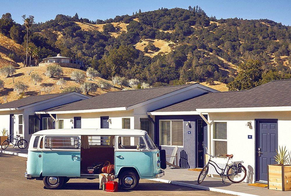 Calistoga Motor Lodge and Spa, Calistoga, California