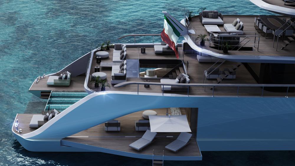 Apache super yacht